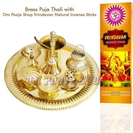 Buy brass pooja thali online dating