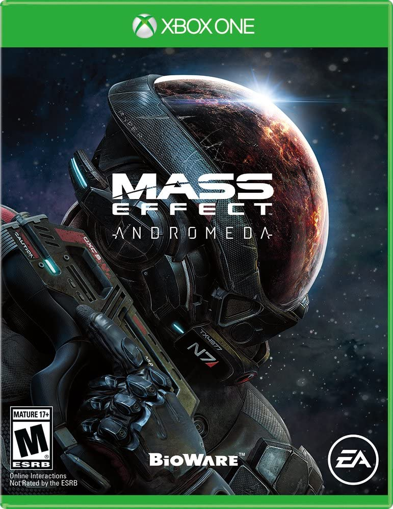Amazon mass effect andromeda xbox one video games sciox Choice Image