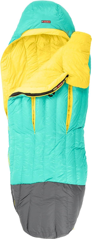 [ニーモ]NEMO Rave 30 Sleeping Bag - レディース 寝袋 [並行輸入品] B01MYFBH7F Long Right|SEA GLASS/LEMON SEA GLASS/LEMON Long Right