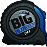 Century Drill and Tool 72833 Big Blue Tape Measure, 33-Foot