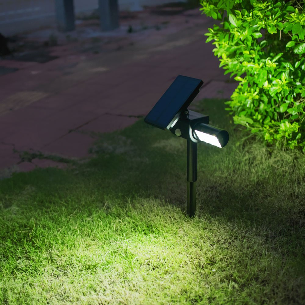Solar Powered lights, Solarmks Solar Lights Outdoor Waterproof 24 LED Wireless Solar Motion Sensor Light, Solar Landscape Light for Outdoor Garden, Patio, Yard, Driveway