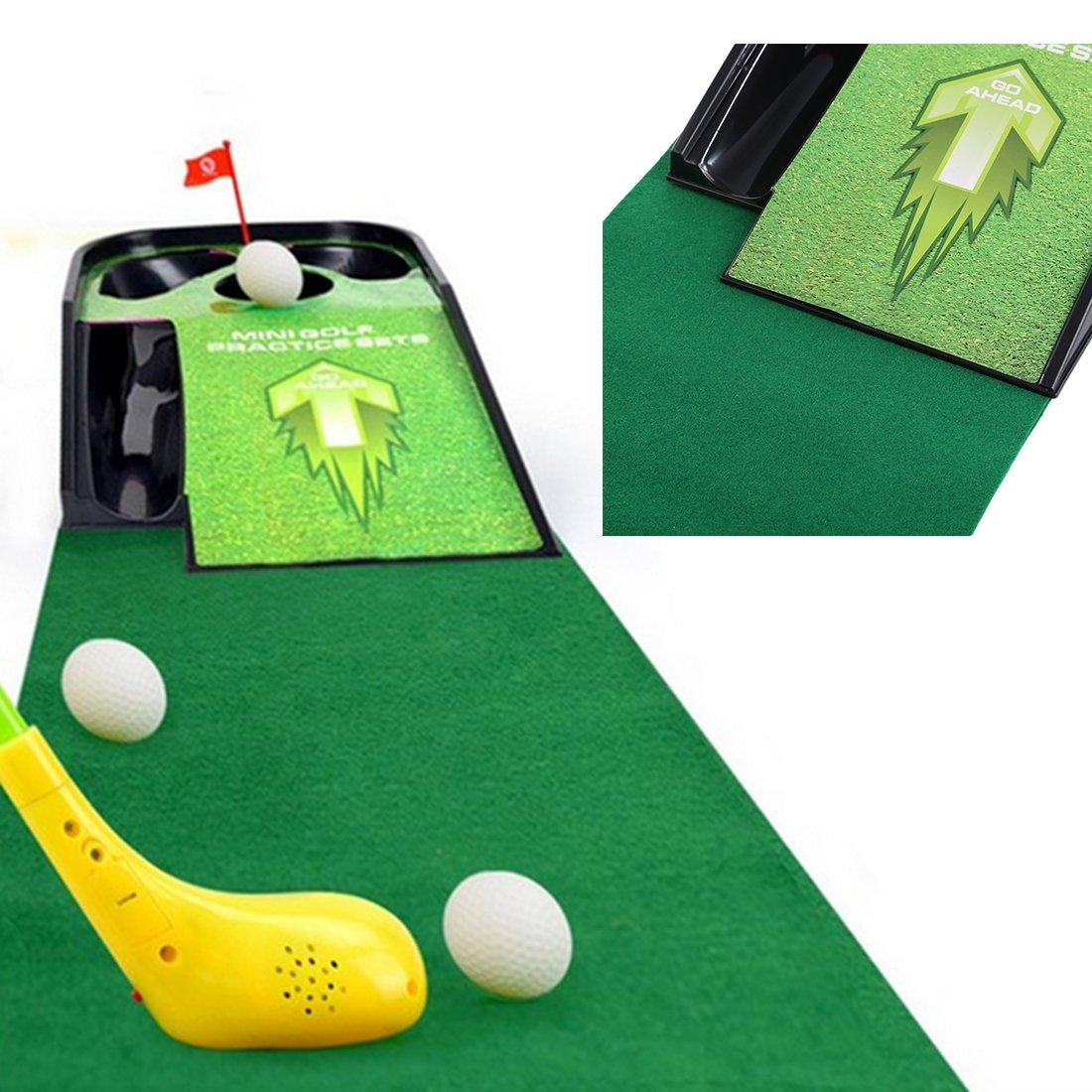 Tosbess Juegos Aire Libre Mini Golf Trolley Juguete de ...