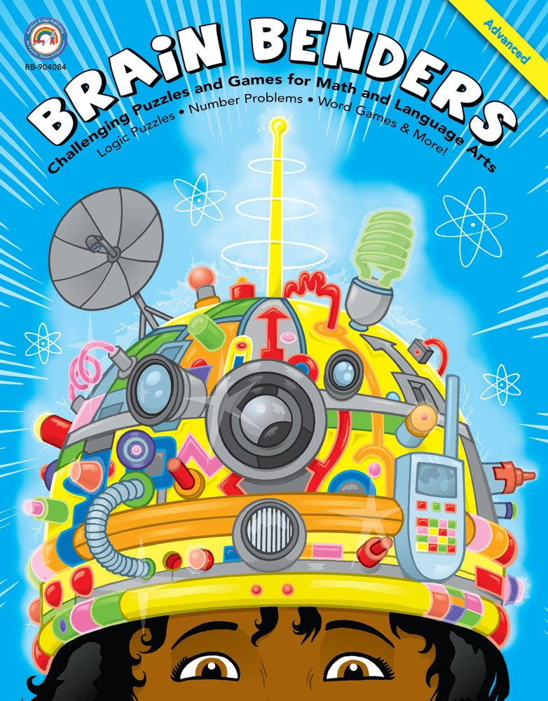Brain Benders: Challenging Puzzles and Games for Math and Language Arts, Advanced