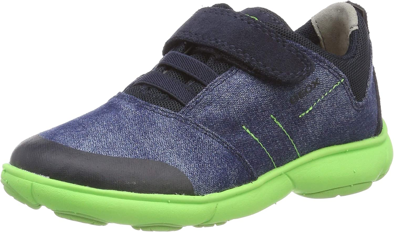 Geox J Nebula Boy B Low-Top Sneakers