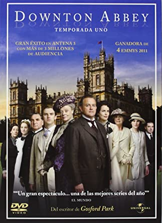 Downton Abbey Temporada 1 Import Dvd 2011 Hugh Bonneville; Maggie ...