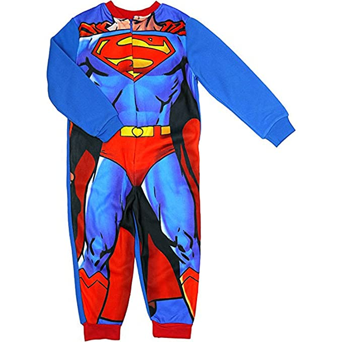 4f0dcf681d Superman - Pijama de una pieza - para niño azul azul 3-4 Años