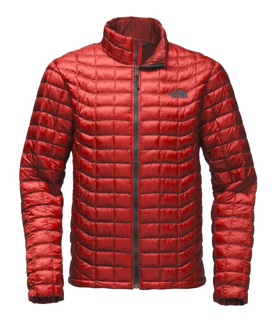 The North Face Men's Thermoball Jacket - Cardinal Red - L (Past Season) by The North Face