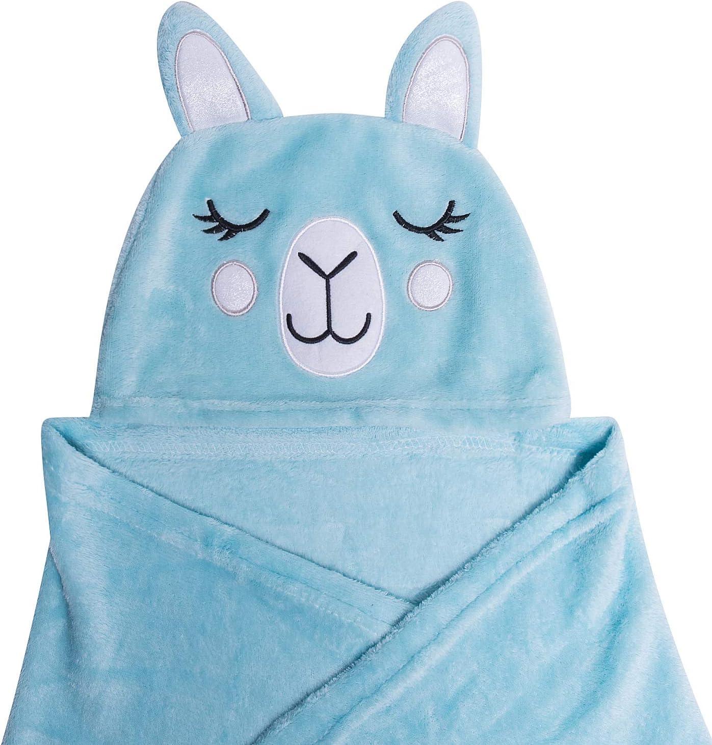 Blanket Hoodie for Kids - Large Hooded Blanket Wearable Animal Throw Unicorn Blanket for Kids - Throw Blankets with Hood - Hoodie Blankets for Kids - Throw Blankets with Hood (Llama Blanket)