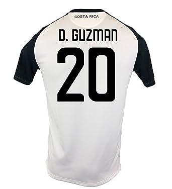 New Balance D. Guzman  20 Costa Rica Away Soccer Men s Jersey FIFA World Cup e3863f5de
