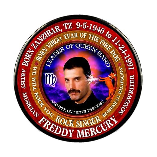 Amazon com: Freddy Mercury 70's Singer, Astrology Virgo Zodiac Fire