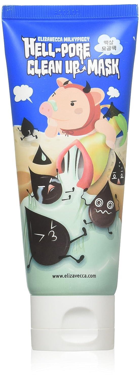 Elizavecca milkypiggy Hell-Pore Clean Up nose Mask, liquid type nose pack (100ml) by Elizavecca by Elizavecca