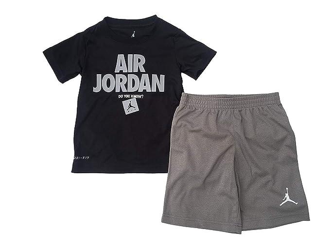770910087 Amazon.com: Air Jordan Jumpman 2 Piece Boys Outfit Set: Clothing