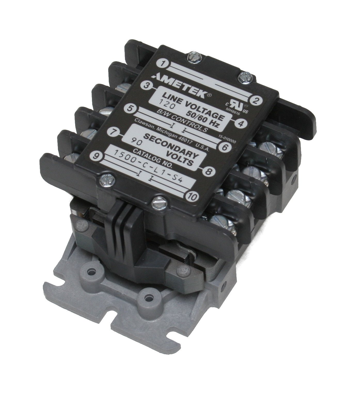 B/W Controls 1500-C-L1-S4 Liquid Level Control Relay