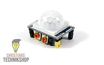 Hc sr pir infrarot modul bewegungsmelder sensor amazon