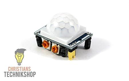 Hc sr501 pir infrarot modul bewegungsmelder sensor: amazon.de