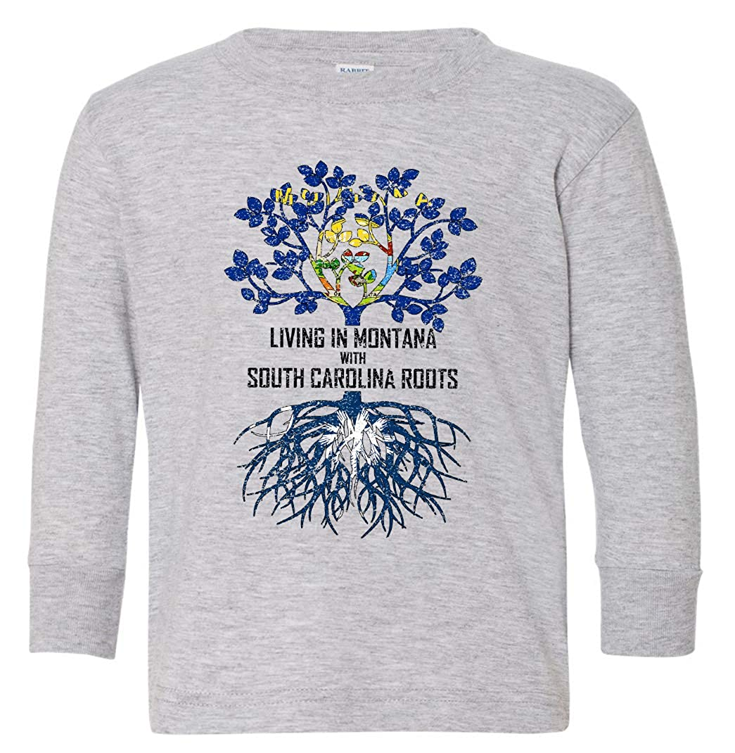 Tenacitee Babys Living in Montana South Carolina Roots Shirt