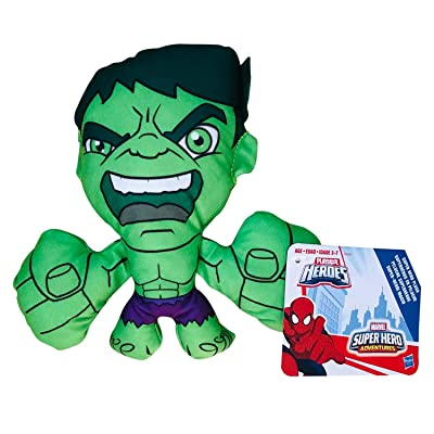 Marvel Avengers Super Heroes 7 Inches Plush ''Collect Them All'' Assortment (Hulk): Toys & Games