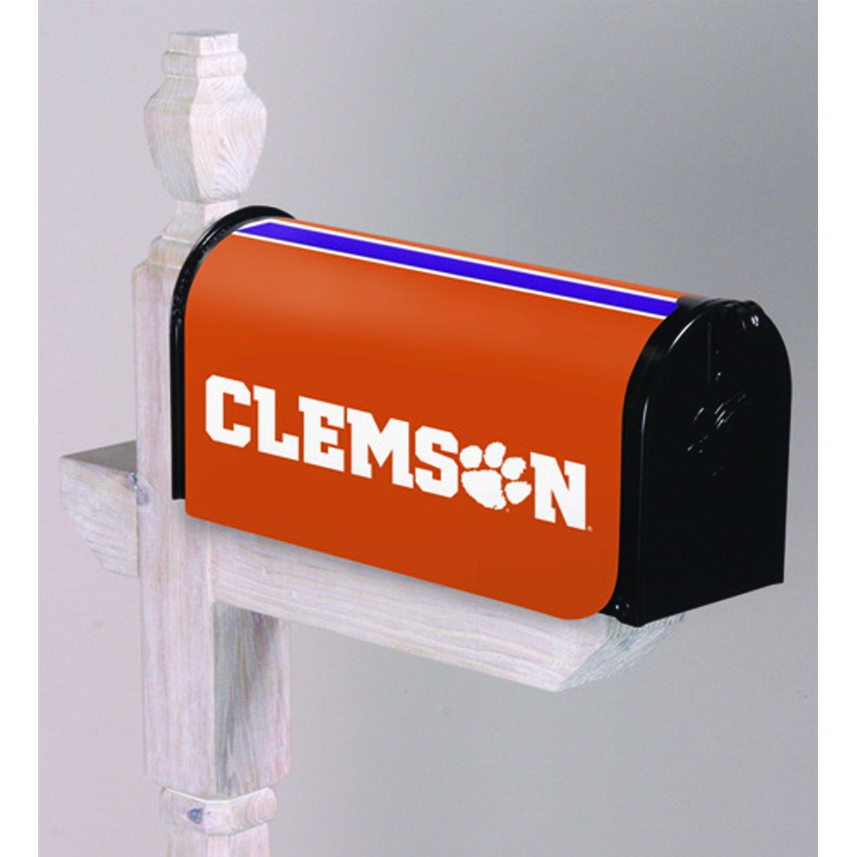 Team Sports America Clemson University Applique Mailbox Cover