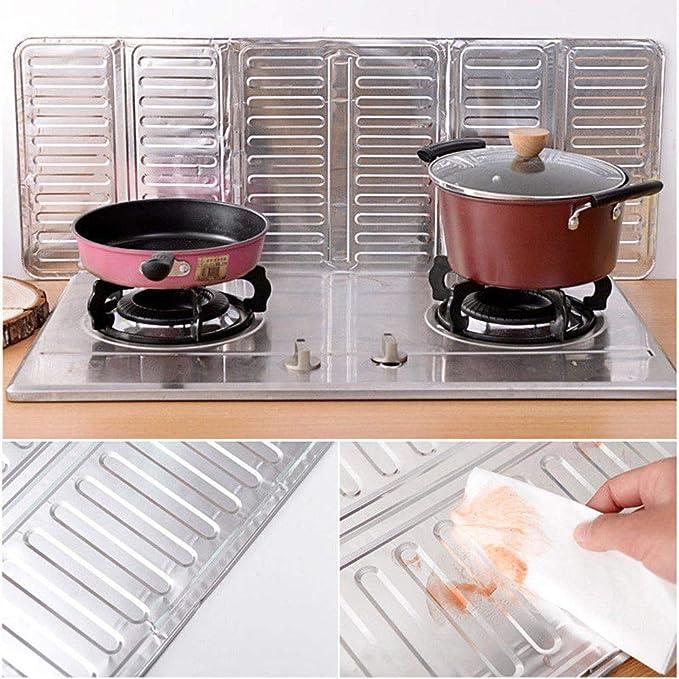 Amazon.com: Kitchen Anti Splatter Shield Guard Cooking Frying Pan Oil Splash Screen Cover: Kitchen & Dining