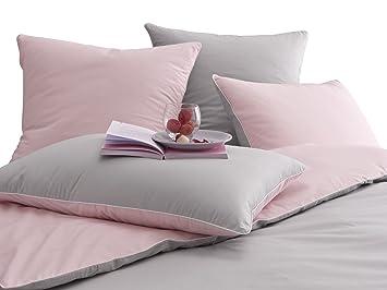 funda nordica rosa y gris