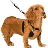 Dog Halter - Non-Pull No-Choke Humane Pet Training Halter Harness, Easy Step-in Vest Collar Halter for Control…