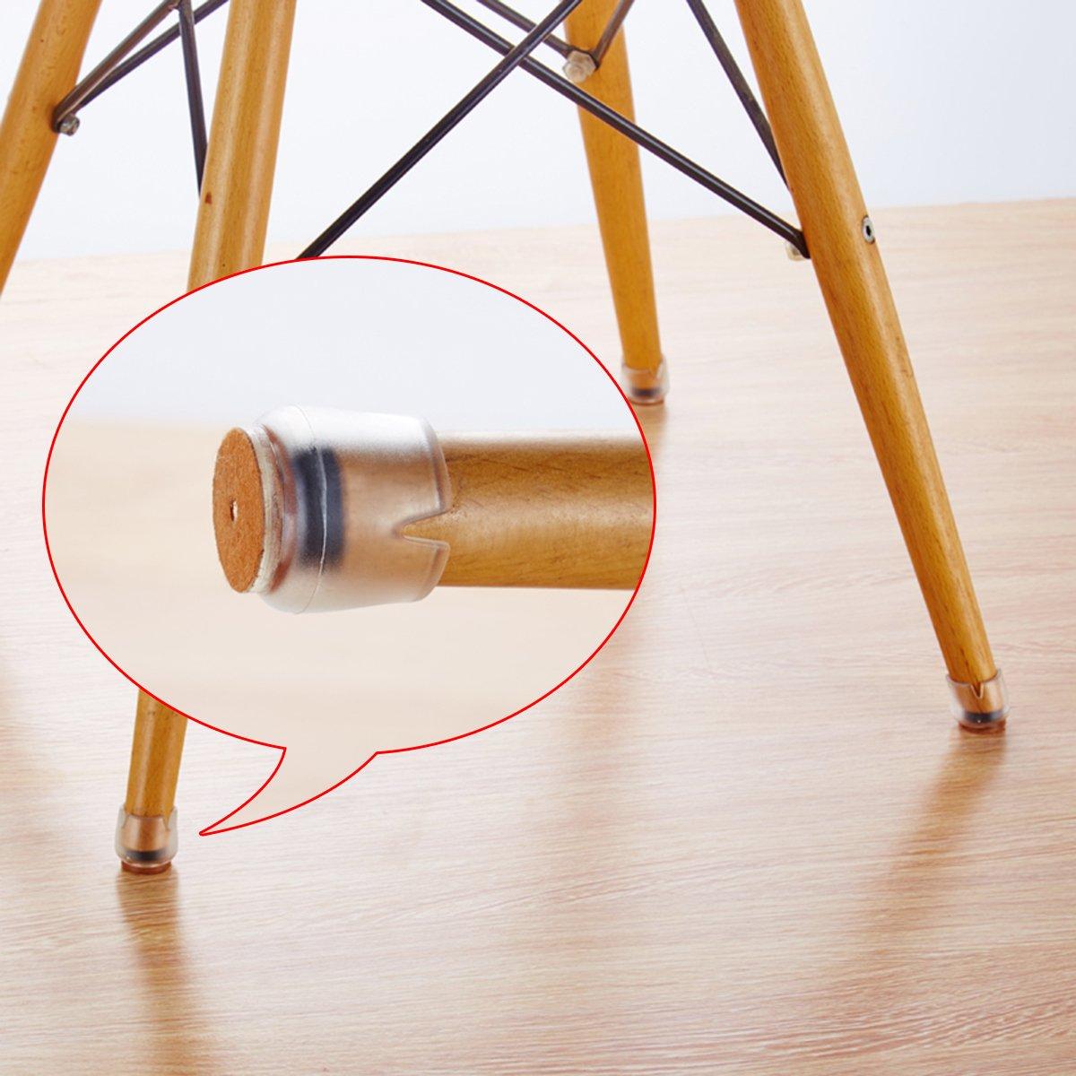 Bodenschoner Tische Stuhlf/ü/ße und Stuhlf/ü/ße rund aus Silikon f/ür M/öbel