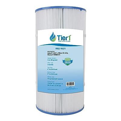 Tier1 Replacement for Waterway 817-0075N, Clearwater II 75, Pleatco PWWCT75, Filbur FC-1255, Unicel C-8411 Filter Cartridge : Lawn Mower Parts : Garden & Outdoor