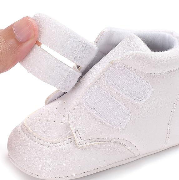 Zapatos para bebé Auxma Zapatillas de Deporte de los niños de los bebés y de Las Muchachas Primeros Pasos para 3-6 6-12 12-18 Mes: Amazon.es: Zapatos y ...