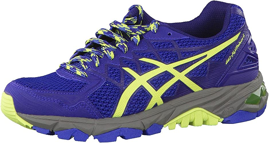 asics support trail running shoes