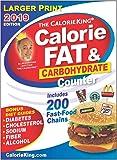CalorieKing 2019 Larger Print Calorie, Fat