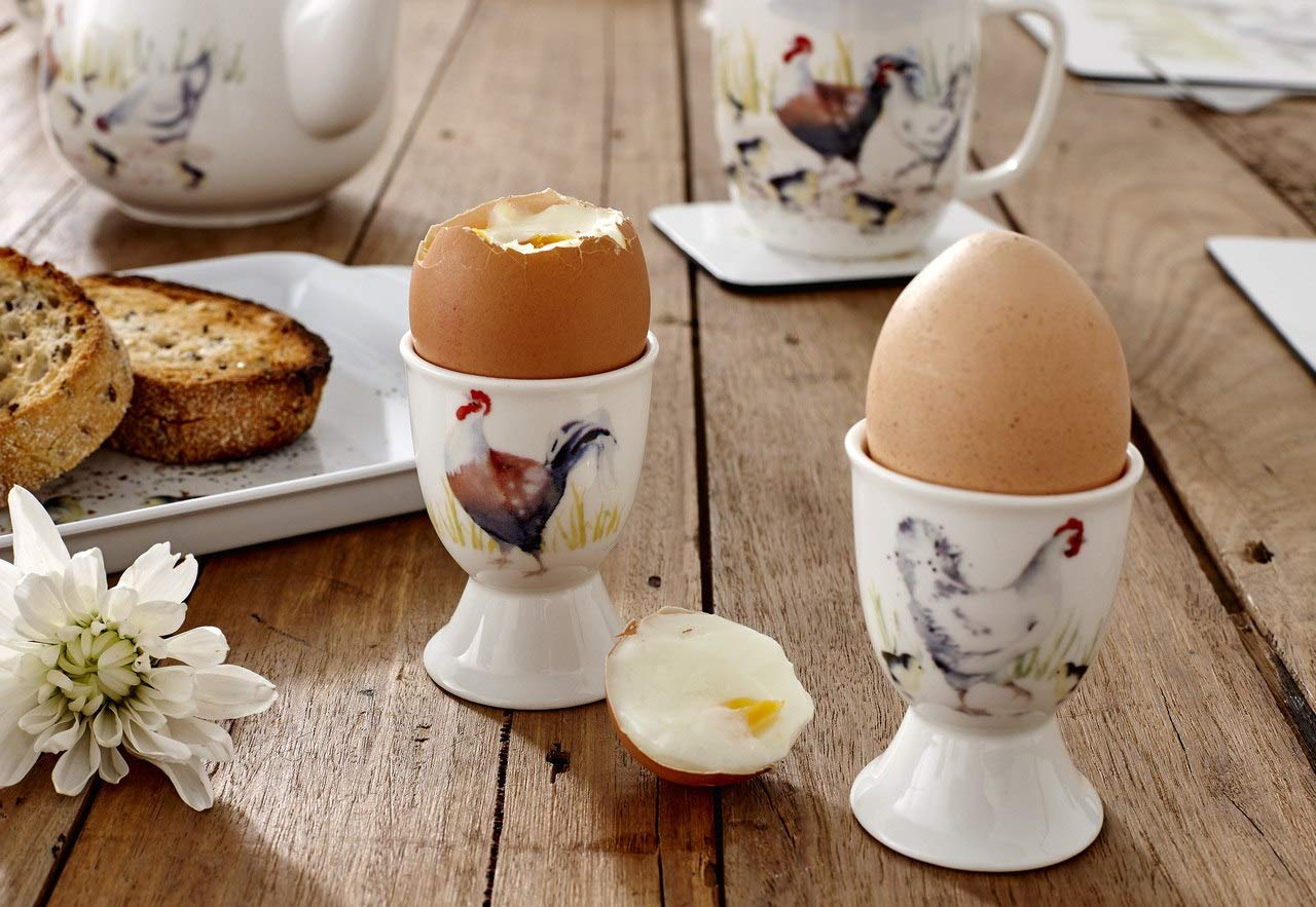 Ashdene Country Chickens Collection - Egg Cup - Set of 2 - Chicken