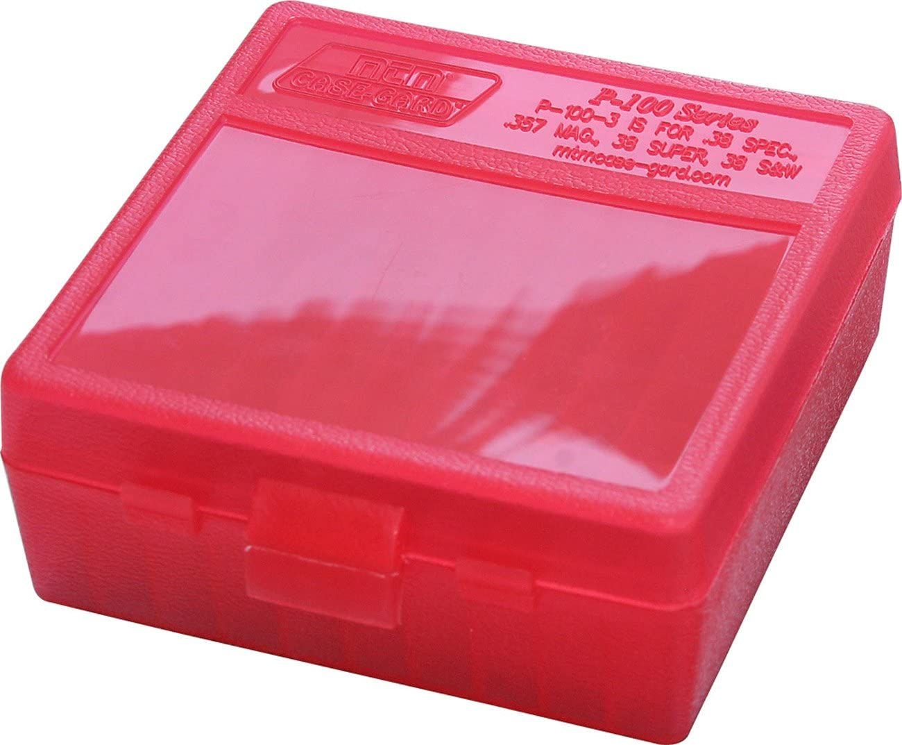 BERRY/'S MFG PLASTIC STORAGE AMMO BOXES 5 pack 357 // 38 CLEAR