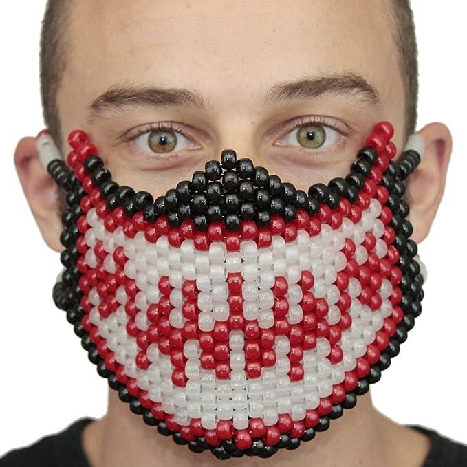 Mascara Kandi de Veneno (Venom) Roja y Spiderman que Brilla en la Oscuridad por