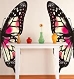 Amaonm Removable Colorful Butterfly Wall Decals