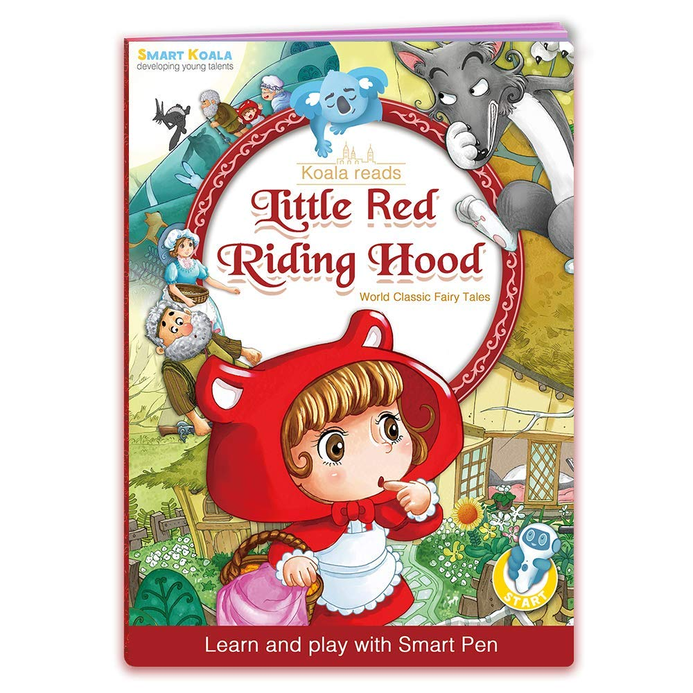 Talking Pen + 3 Fairy Tales Bundle (Pinocchio, Cinderella, Red Hood). The most Entertaining Books for learning Reading and Spelling Skills. English and foreign Languages (Spanish, German for free) by Smart Koala (Image #5)
