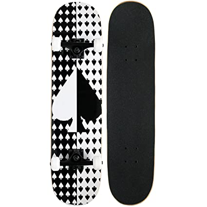 2f35a3629742 Amazon.com : KPC Pro Skateboard Complete, Ace : Standard Skateboards :  Sports & Outdoors