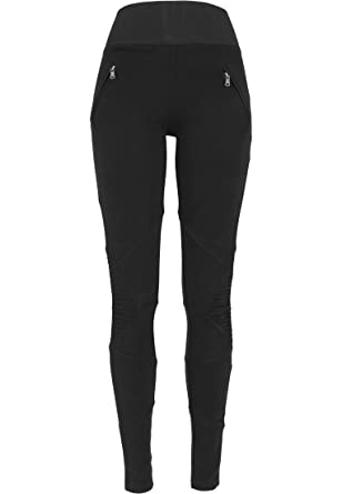 Urban Classics TB1053 Ladies Interlock High Waist Leggings  Amazon.de   Bekleidung b42acf695f