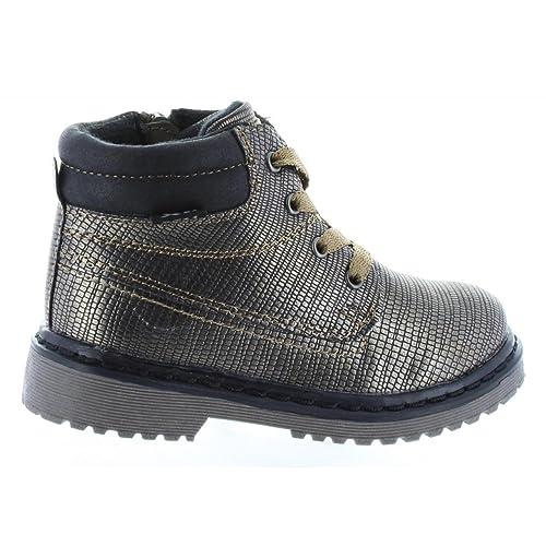 XTI - Botines de Niña 53914 METALIZADO BRONCE: Amazon.es: Zapatos y complementos