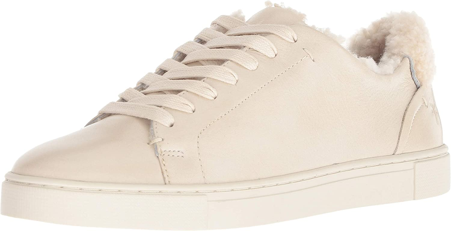 Ivy Shearling Low Lace Sneaker