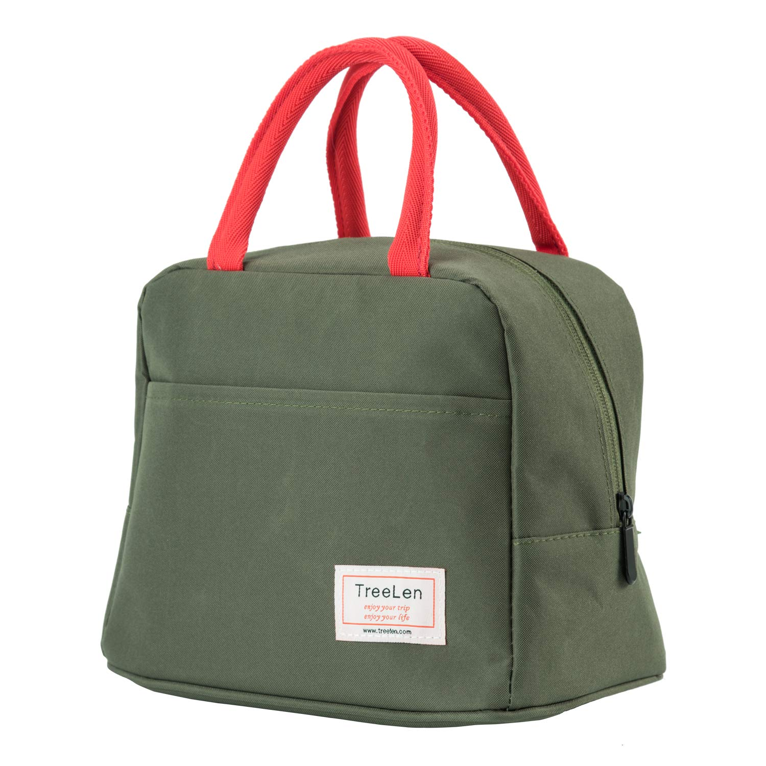 Insulated Lunch Bag for Women,Lunch Holder Insulated Lunch Tote Bag,Student Thermal Bag and Lunch Cooler Box by TreeLen