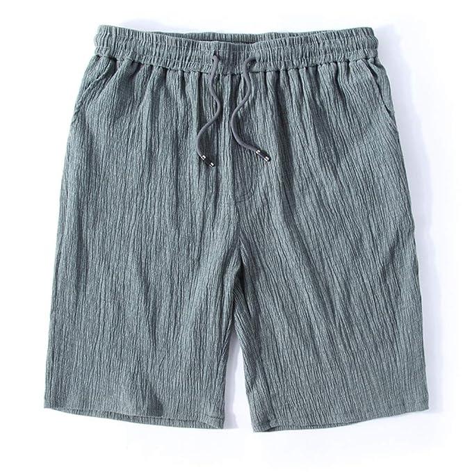 GIRLXV Negro - Pantalones Cortos De Hombre Bolsillo De ...