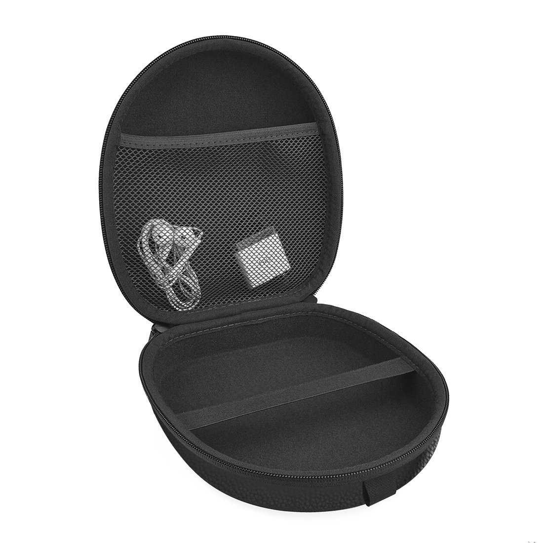 ATH ESW9 WS99BT ES700 FC700 WS33X S100 ES7 ES10 ANC20 ES500 // Hard Shell Carrying Case // Protective Travel Bag Black Geekria Headphones Case for XO Vision IR620 IR630 IR630R AKG Y50 Y50BT
