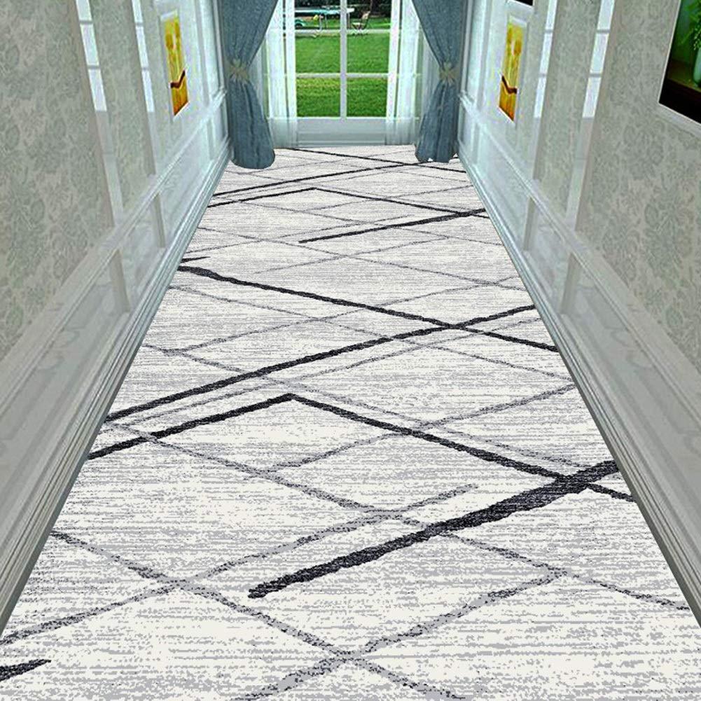 Farbe : A, größe : 0.8x1m 7mm Anpassbare Mehrere Längen JIAJUAN Läufer Teppiche Flur Teppich Rutschfest Pflegeleicht Küche Halle Gang Fußboden Matte 2 Farben