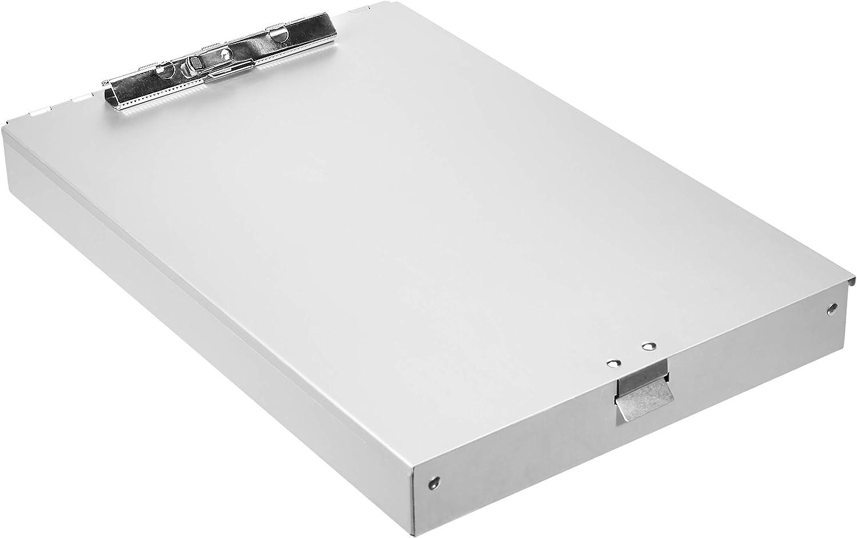 32 x 23 cm Basics Portablocco in alluminio con scomparto portadocumenti