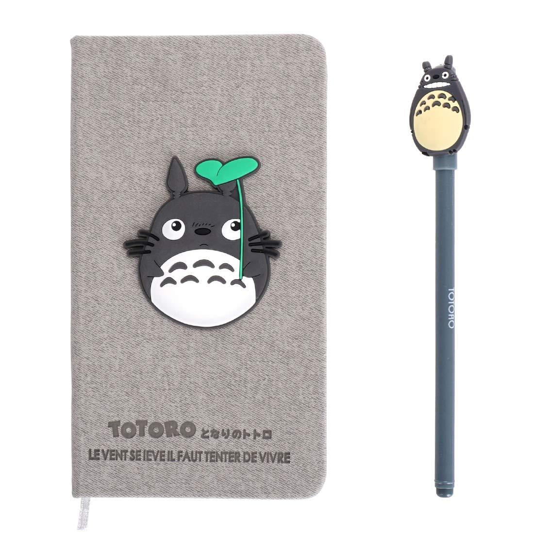 CoolChange Taccuino/diario di Totoro a copertina dura con penna a tratto sottile