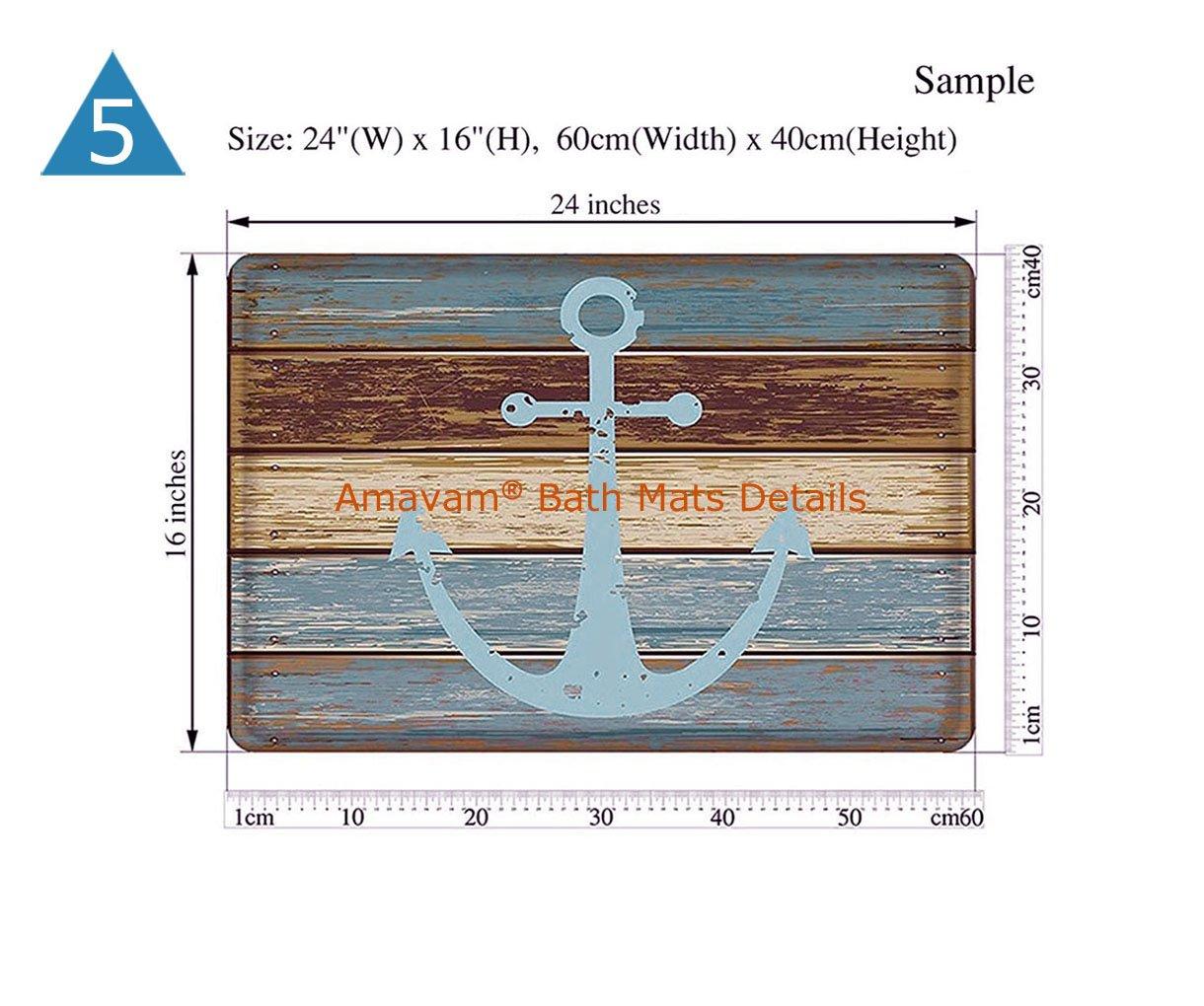 Amavam Bathroom 2-Piece Suit Light Bulb And Solar Panels Shower Curtains And Bath Mats Set, 66'' Wx72 H & 23'' Wx16 H by Amavam (Image #6)