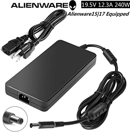 X51 Laptop M18X R2 240W 19.5V 12.3A AC Adapter PA-9E for DELL Alienware M17x