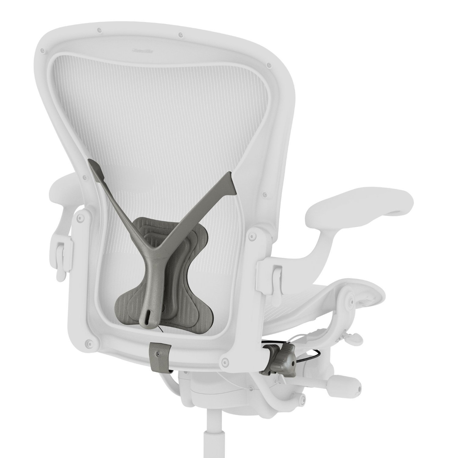 classic image herman grey aeron chair miller in precision tuxedo black stock