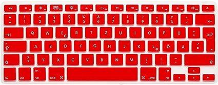 Zhanghouselan Silicone Keyboard Cover Protector Keypad Skin for Mac Air Pro Retina 13 15 EU//US