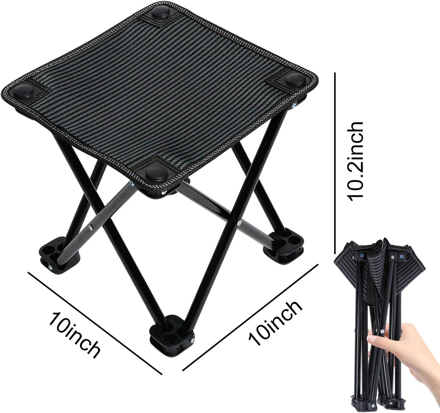 Gelma Mini Folding Camp Stool Portable Camping Chair Lightweight Ultralight Outdoor Folding Step Stool